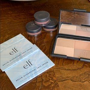 Bare Minerals Blush Face Color ELF Bronzers Cream